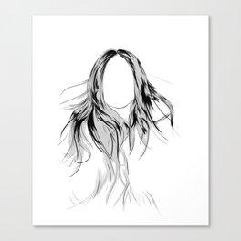 Lady Who? Canvas Print