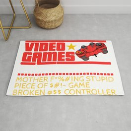 I Don't Always Die When Playing Video Games Game Shirt For Gamers T-shirt Design Console Video Rug