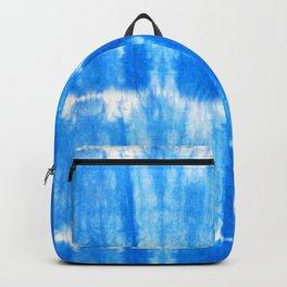 Tie Dye in Blue Backpack