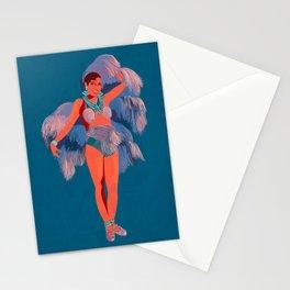 Josephine Baker - Illustrated portrait Stationery Cards