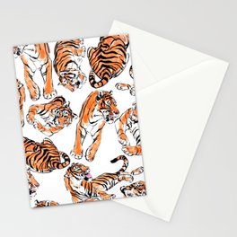 Tiger Pattren Stationery Cards