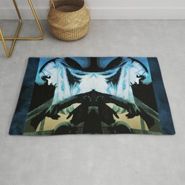 Joni Mitchell Watercolor Rug