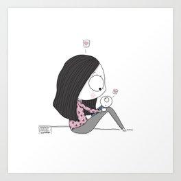 """So this is Love..."" Art Print"