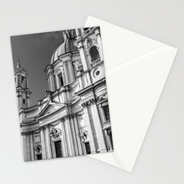 Piazza Navona, the ancient Stadium of Domitian, in Rome, Italy. Stationery Cards