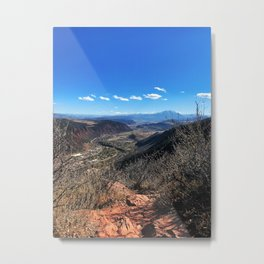 The Air Up There - Glenwood Springs, CO Metal Print