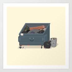 BandNames : Garbage Art Print