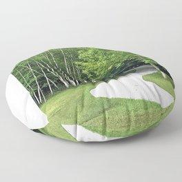 Winding Road Floor Pillow