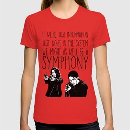 Root & Shaw - Symphony - Person of interest T-shirt