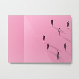BTS - Map of the Soul: Persona Album Cover Metal Print