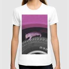 Up & down the wheel I go T-shirt