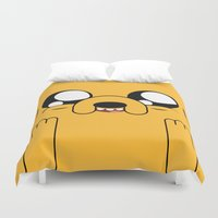 jake Duvet Covers featuring Adventure - Jake by Alessandro Aru