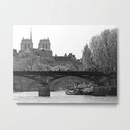 Pont des Arts Metal Print