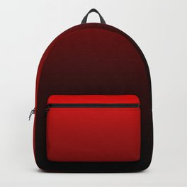 Red and Black Gradient Backpack