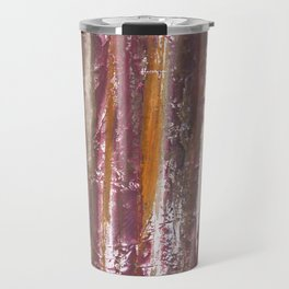 Abstract striped painted Travel Mug