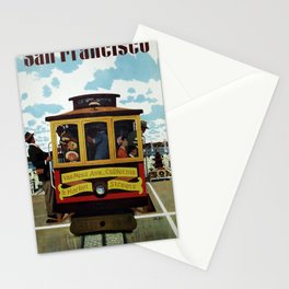 Vintage Travel Poster - San Francisco Stationery Cards