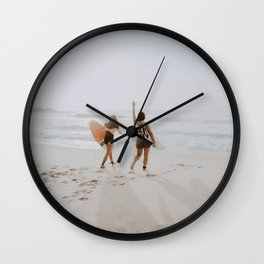 let's surf iv / brazil Wall Clock