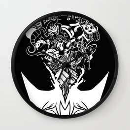 Exploding Head Syndrome Wall Clock