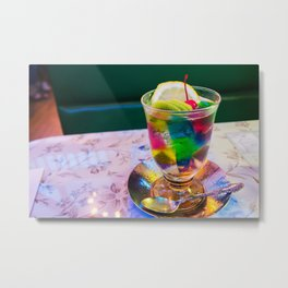 Italian Aperitif Alcoholic Beverage Absinthe cocktail photography / photographs kitchen, dinning room wall decor Metal Print
