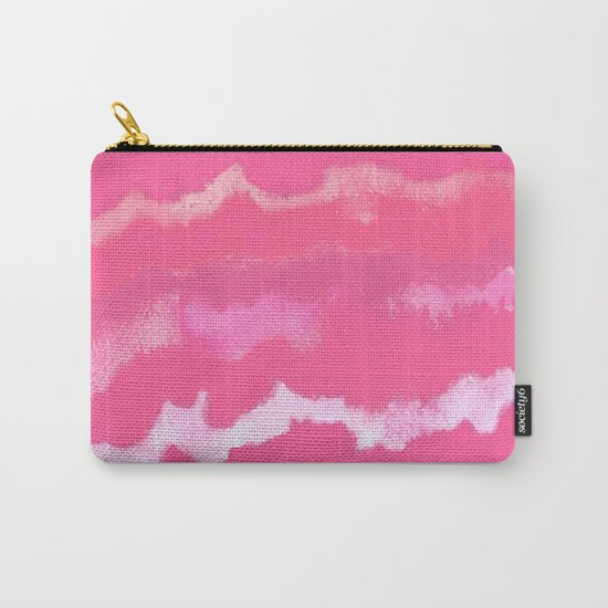 Colour Waves Carry-All Pouch