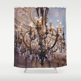 Chandelier, RI Mansion  Shower Curtain