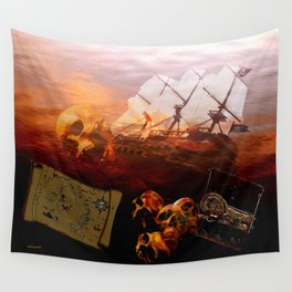 Pirates Wall Tapestry