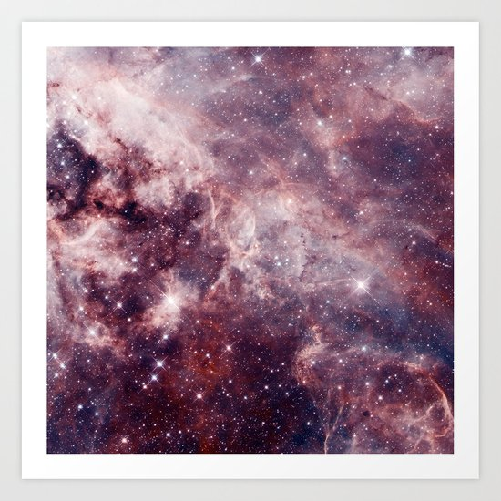 Cloud Galaxy Art Print
