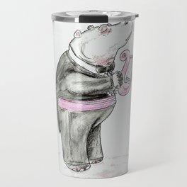 Heliotrope Hippo Travel Mug