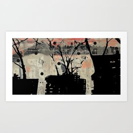 On Second Thought Art Print