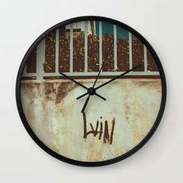 LV!N Wall Clock