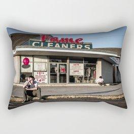 Not Now, Balloon Rectangular Pillow