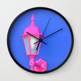 pink and blue #society6 #decor #buyart Wall Clock