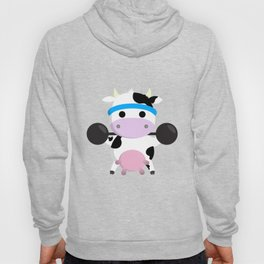 TeeTee - The Aerobic Cow #04 Hoody