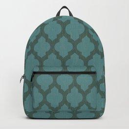 Turquiose Moroccan Backpack