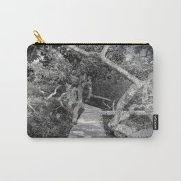A Walk Through the Crooked Trees Carry-All Pouch