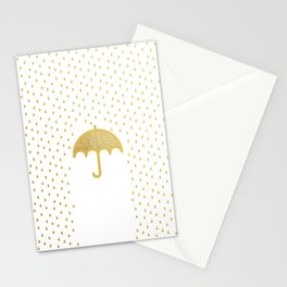 Raining song Stationery Cards