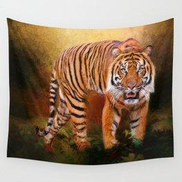Sumatran Tiger Wall Tapestry