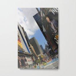 New York City Life Metal Print
