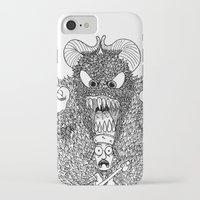 bigfoot iPhone & iPod Cases featuring Bigfoot by Iamzombieteeth Clothing
