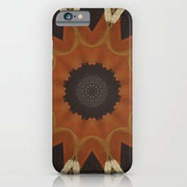 Shaman's Drum // Visionary Art Native American Great Spirit Feather Sacred Geometry Energy Healing iPhone Case