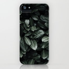 Lush Leaf Life iPhone Case