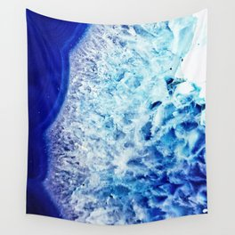 Gemstone Crystal Geode Wall Tapestry
