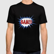 BAM Black Mens Fitted Tee MEDIUM