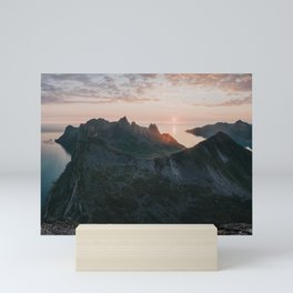 Midnight Sun - Landscape and Nature Photography Mini Art Print