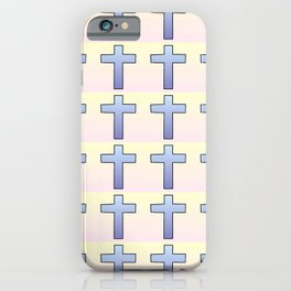 Christian Cross 47 iPhone Case