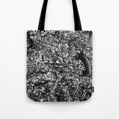 Overtime at the Power Station Tote Bag