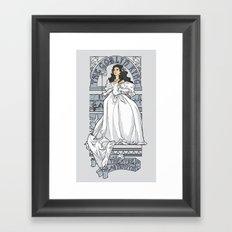 Theatre de la Labyrinth v2 Framed Art Print