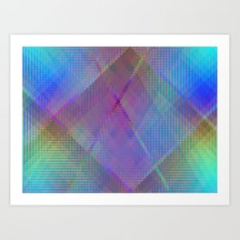 Pastel Lights Art Print