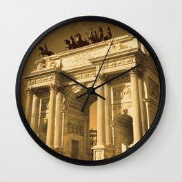 Arco della Pace Milan Wall Clock