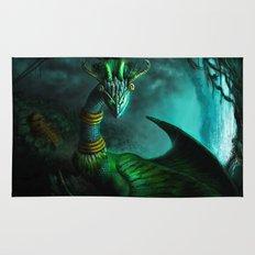 Aztec dragon (older work) Rug