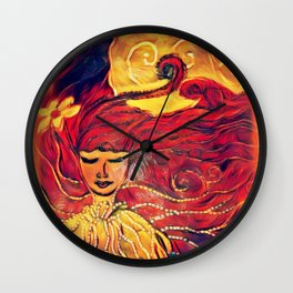 Peaceful Wall Clock